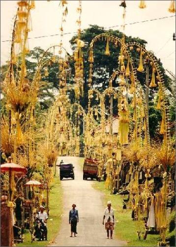 Tradisi natal di Bali