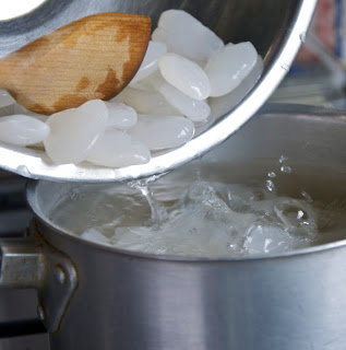 step 2 manisan kolang kaling